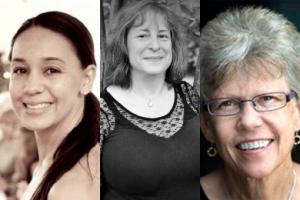 Alexandra Umlas, Angele Ellis, Debbie Hall