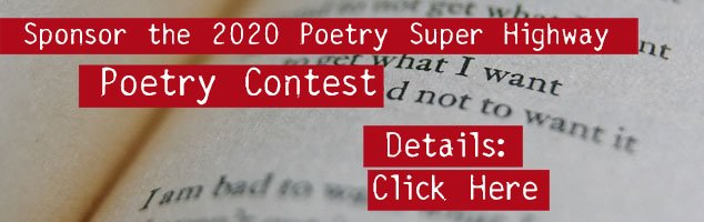 Sponsor the 2020 Poetry Super Highway Poetry Contest