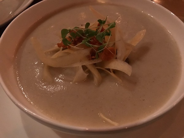 Sunchoke Apple Soup