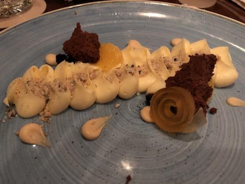 Disassembled Cheesecake
