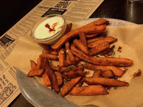 Chili Lime Sweet Potato Fries